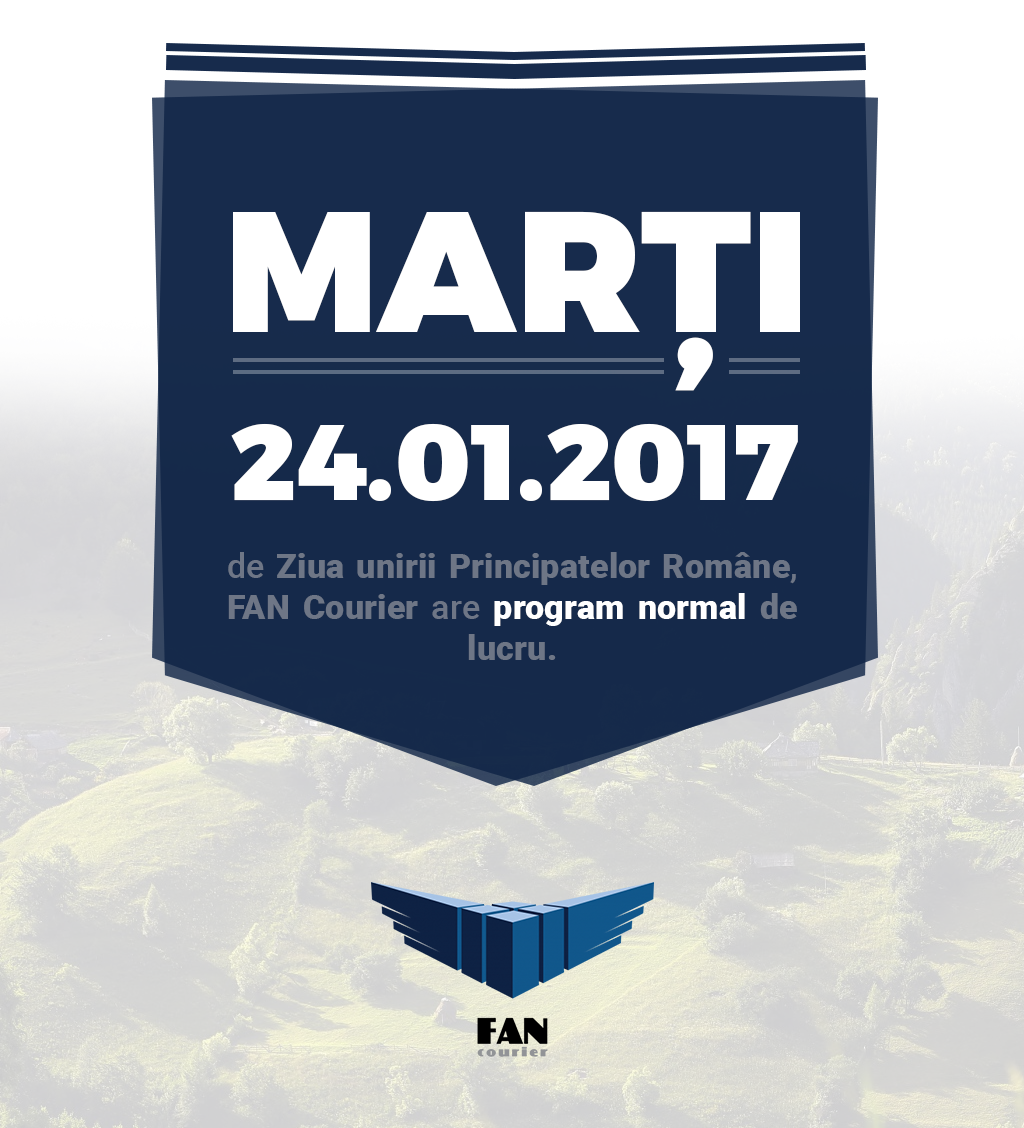Program normal FAN Courier 24.01.2017
